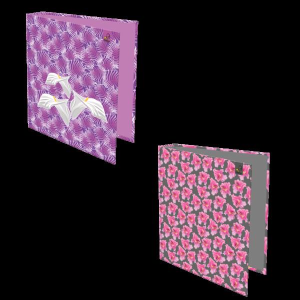 SEGREGATOR A4/2R FLOWERS / 2szt. mix - KOD EAN: 5905669097024