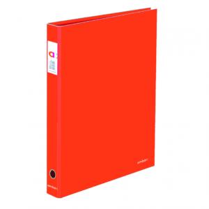 A4 SEGREGATOR 2-RINGOWY AMBAR RED - KOD EAN: 5601199175040