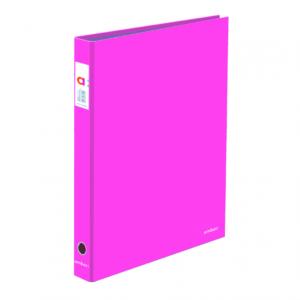 A4 SEGREGATOR 2-RINGOWY AMBAR PINK - KOD EAN: 5601199175057
