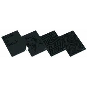 ZESZYT A5 40K CLEVER BLACK LINIA - KOD EAN: 5601199180488