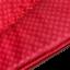 Czerwona torba - etui na laptopa z eleganckim motywem z syntetycznego materiału lepszego od skóry.