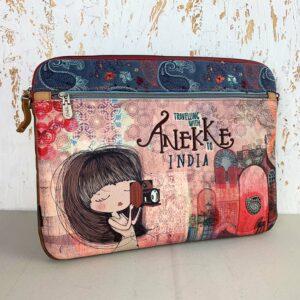 Etui torba na laptopa z paskiem na ramie Anekke India 8433799906390