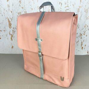 Plecak damski z ekoskóry Unkeeper Heritage pink 5600446624669