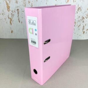 Segregator A4 2-ringowy Pastel Pink 5601199209950