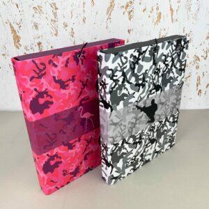 Teczka box A4 z gumką Camouflage Kamuflaż 5905669096980
